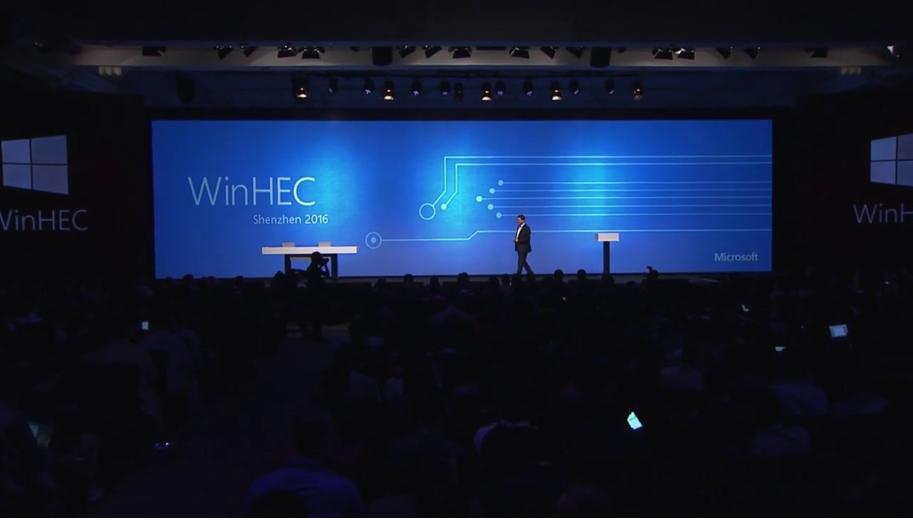 Video Evento WinHEC con tutte le novità Microsoft per il 2017 HTNovo