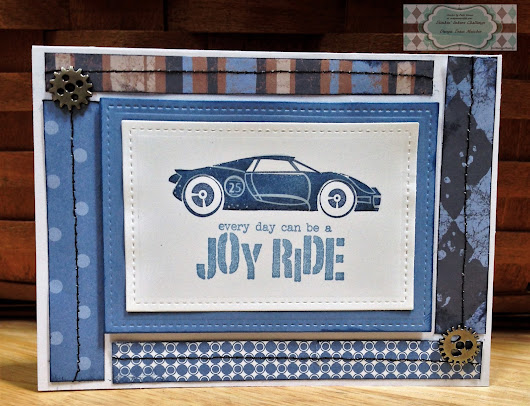 Joy Ride Card for Stinkin' Inkers Challenges