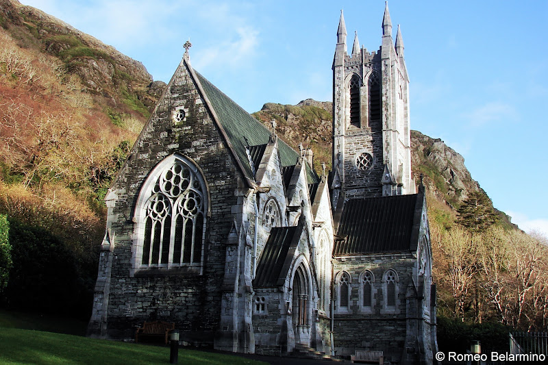 Gothic Church of Kylemore Abbey Things to See in Ireland Road Trip Itinerary