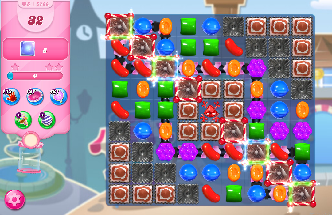 Candy Crush Saga level 5788