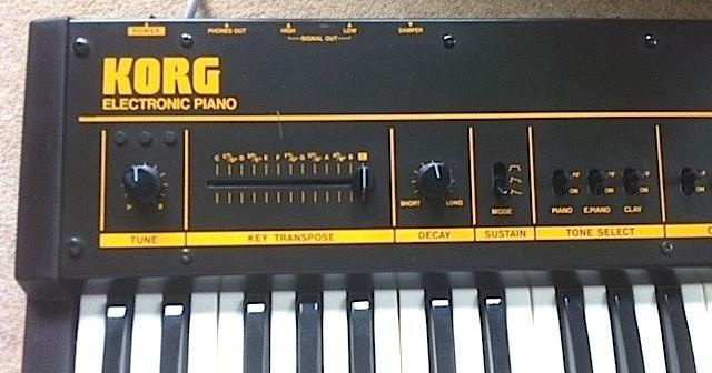 MATRIXSYNTH: KORG LP-10 RARE POLYPHONIC ANALOGUE ELECTRONIC PIANO SN