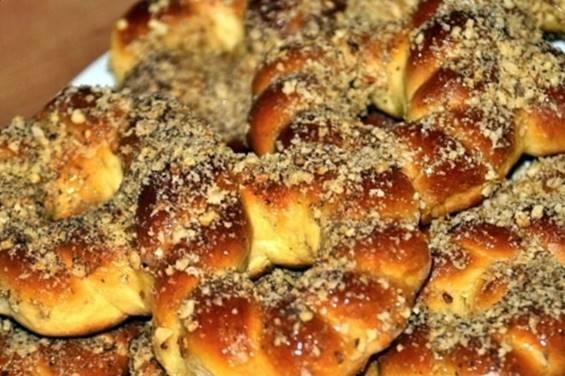 Reteta usoara Mucenici moldovenesti copti la cuptor