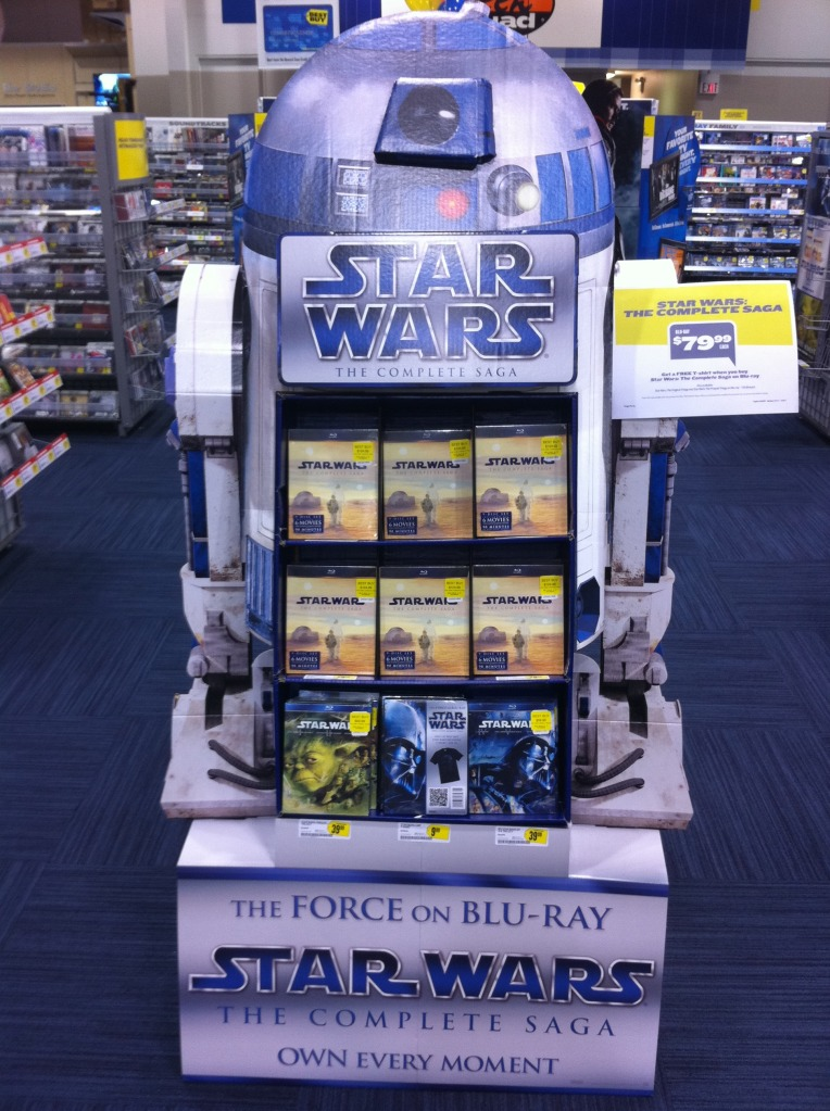 Blu-ray & DVD Exclusives: Star Wars: The Complete Saga: Best