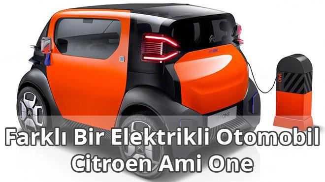 Citroen Ami One Elektrikli Otomobil