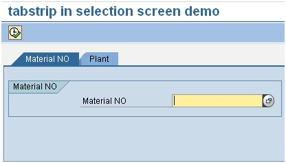 ABAP WITH HR: Tabstrips & Subscreens In Selection Screen