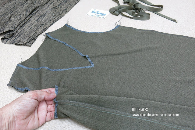 coser cadeneta overlok