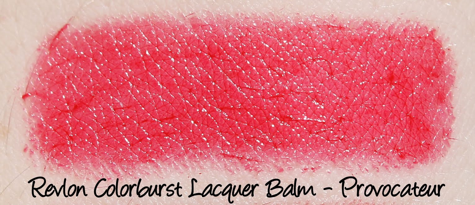Revlon Colorburst Lacquer Balm - Provocateur Swatches & Review