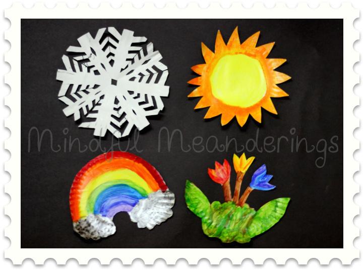 Snowflake Paper Plates Craft