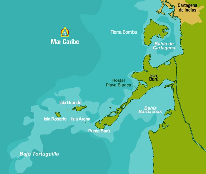 Isla Baru - Cartagena
