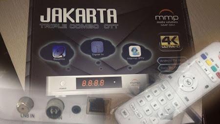 Harga dan Spesifikasi Receiver MMP Jakarta 4K Combo
