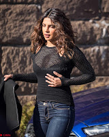 Priyanka Chopra in a Stunning Black Net Top shooting for Quantico 3 ~  Exclusive Galleries 015.jpg