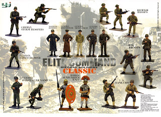 54mm Figures; BBI; Blue Box; Blue Box BBI; Blue Box International; Blue Box Toys; British Troops; Classic; Die Cast Toy Soldiers; Die Cast Toys; Elite Command; Elite Command Classic; Fieldmarshal Eisenhower; Fieldmarshal Rommel; General Eisenhower; General Montgomery; General Patton; German Panzergrenadiers; German Storm Troopers; Marshal Rommel; Metal; Metal - Die Cast; Metal 54mm Figures; Metal Toy Soldiers; Model Figures; Roman Auxiliaries Unit; Small Scale World; smallscaleworld.blogspot.com; US Officer; US Rangers; US Troops;
