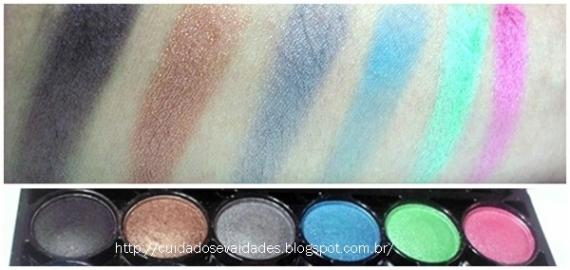 Paleta Mac Cream Eyeshadow