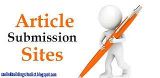 Article Submission Sites List