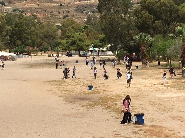 Εθελοντικός καθαρισμός  σχολείου της Κηφισιάς σε συνεργασία με το Δήμο Ναυπλιέων