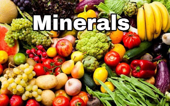 What Are Minerals In Food