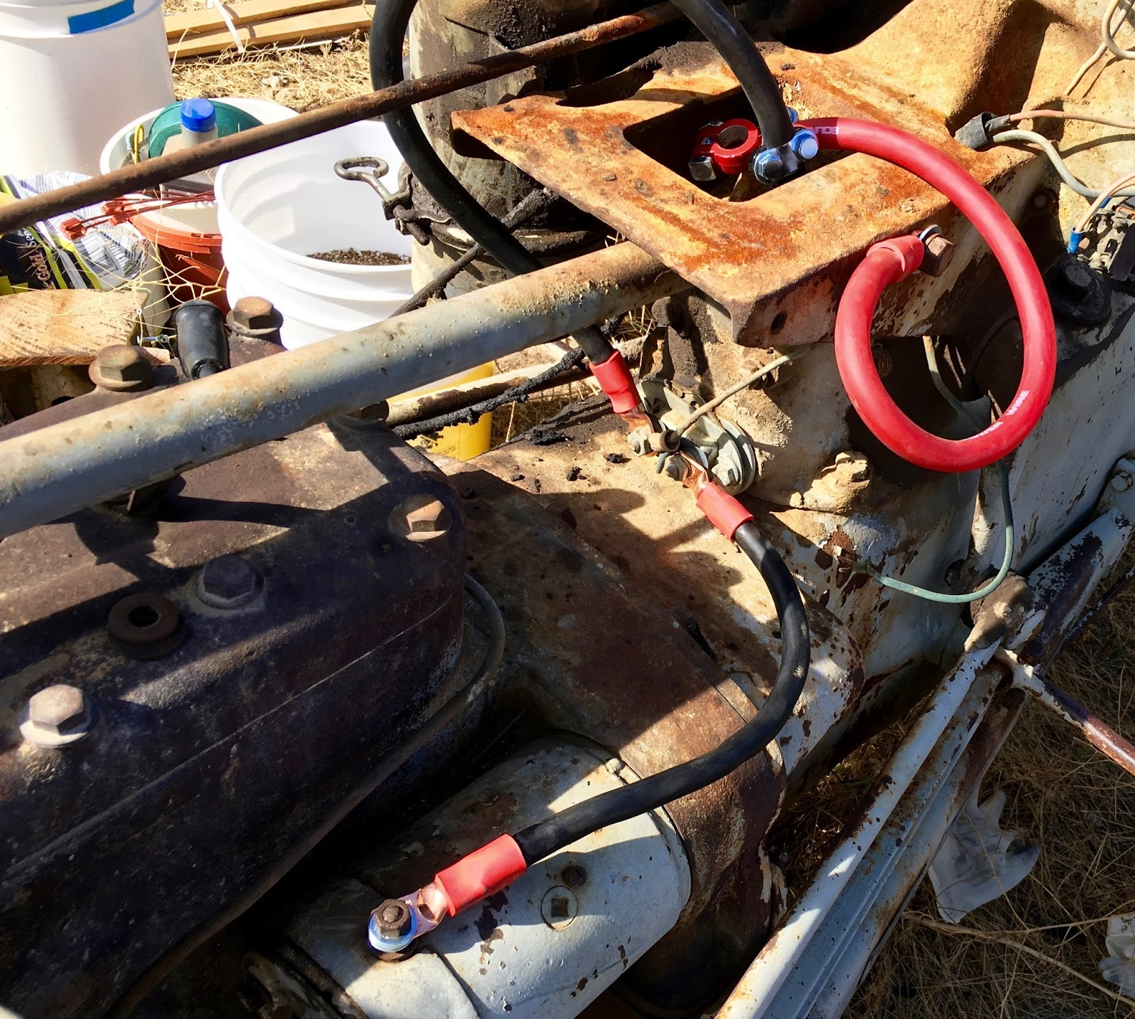 syonyk's project blog: 1939 ford 9n repair work: electrical  syonyk's project blog - blogger