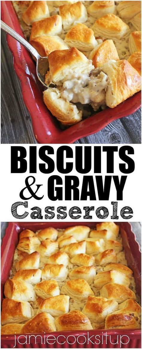 Biscuits #and #Gravy #Casserole