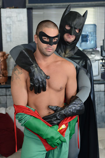 batman and robin spoof porno