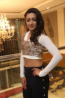 Catherine Tresa in a White Glittering Crop Top Black Leggings  Exclusive 018.JPG