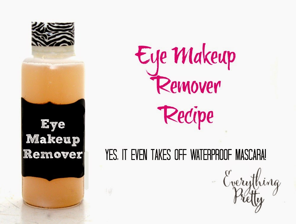 DIY eye makeup recipe.