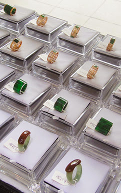 Jadeite ring jewelry