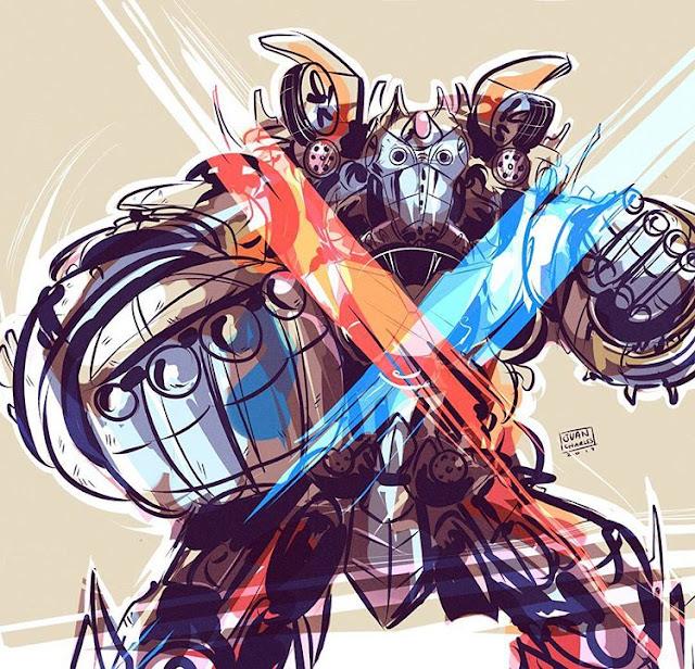 Ilustración Transformer Valvoline