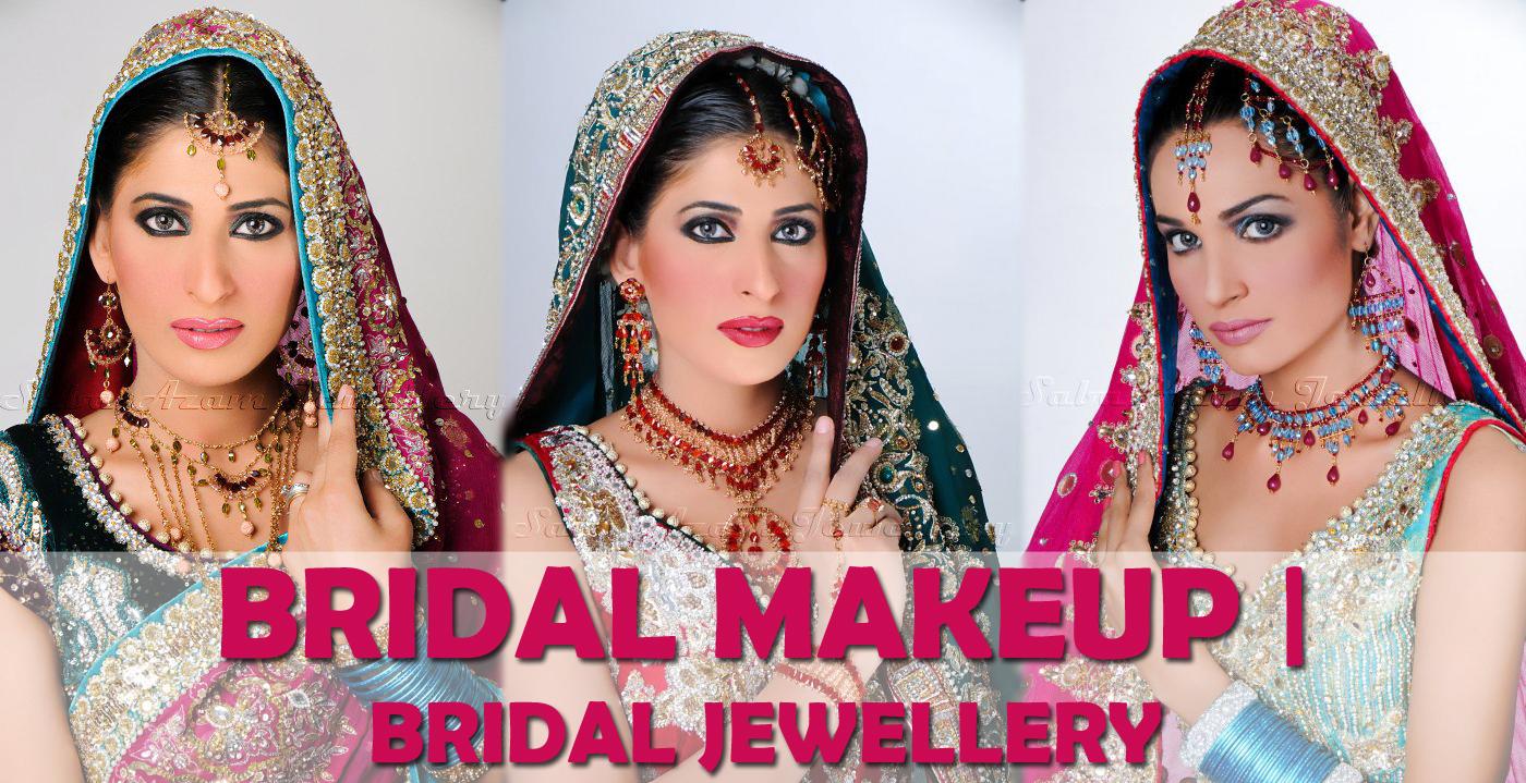 2012 bridal makeup | saba azam stunning jewelry collection