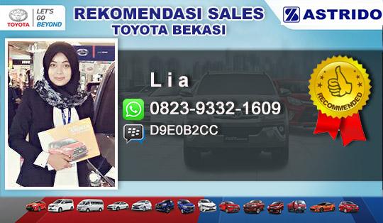 Rekomendasi Sales Toyota Bekasi Selatan