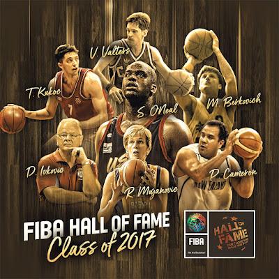 Dream Team, Shaq and Kukoc headline 2017 Class of FIBA Hall of Fame Inductees