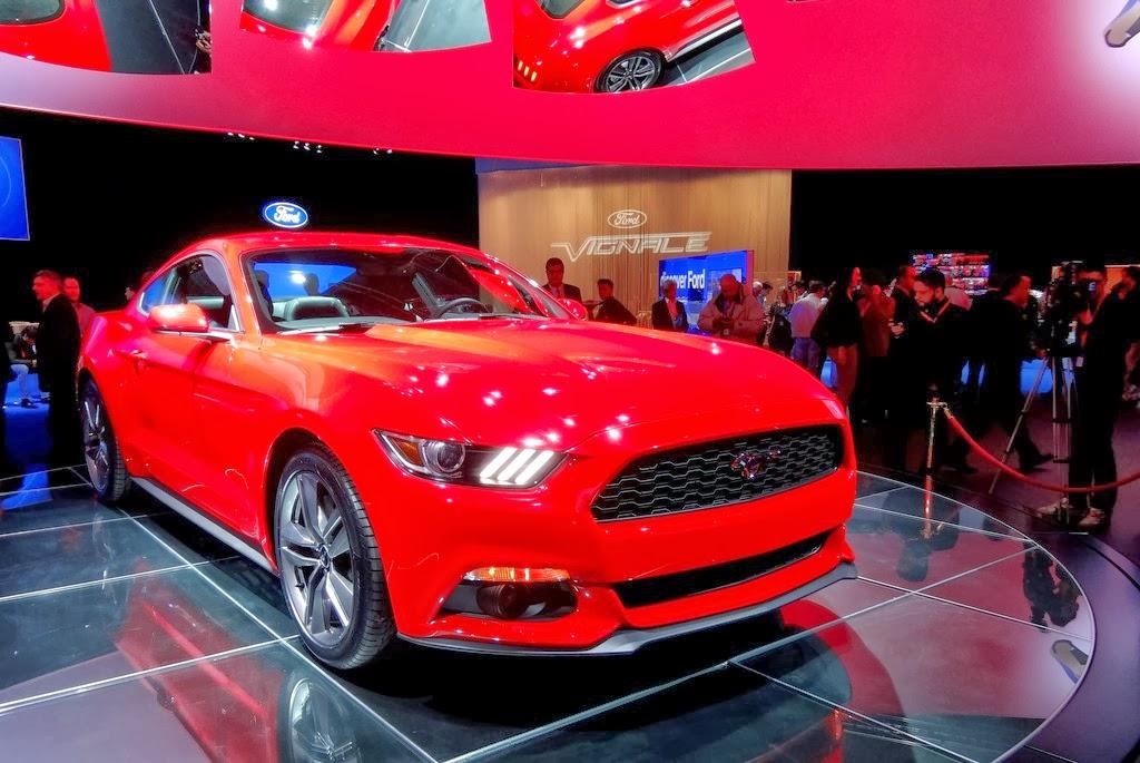 Myford Touch Update >> Ford enthüllt den neuen Mustang MyAuto24 - DAS Autoblog im Internet MyAuto24