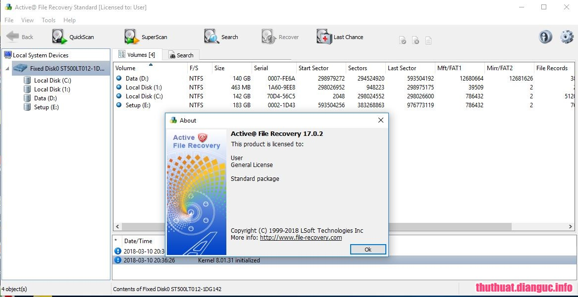 Download Active@ File Recovery 18.0.8 Full Cr@ck
