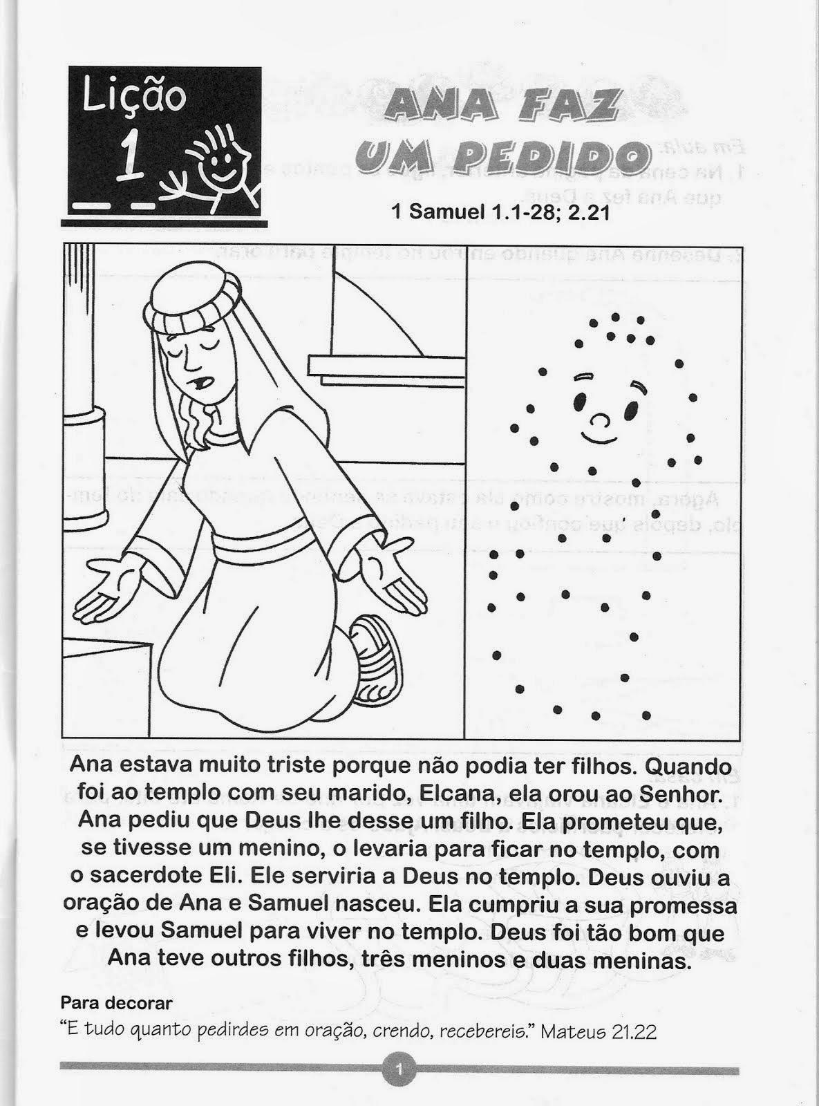 ensenanzas biblicas para celulas rede infantil atividades