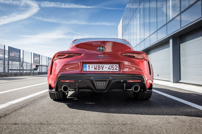 The Toyota Supra 2019 European Version
