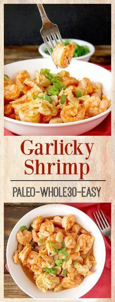 Garlicky Shrimp (Paleo And Whole30)