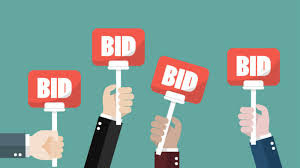 number of bids