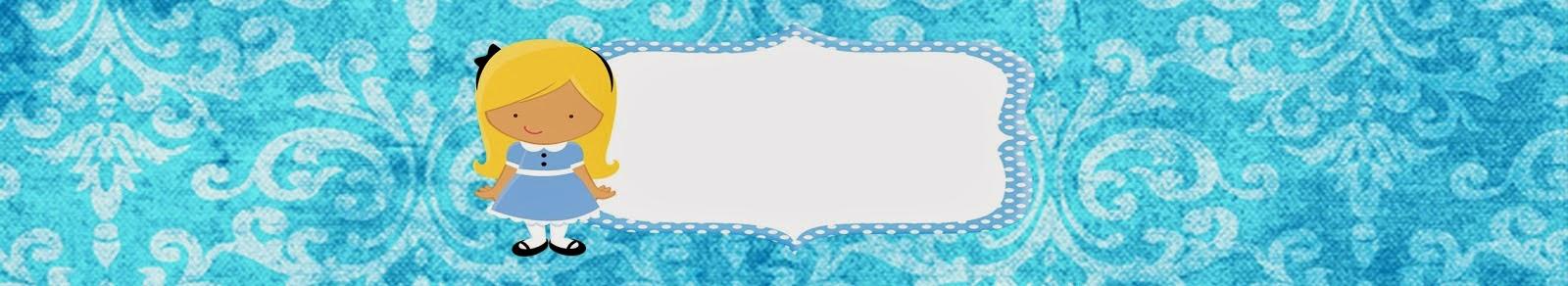 Etiquetas para Imprimir Gratis de Alicia Bebé.