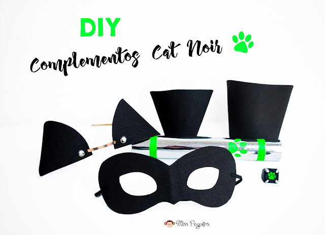 Diy exprés: Complementos disfraz Cat Noir