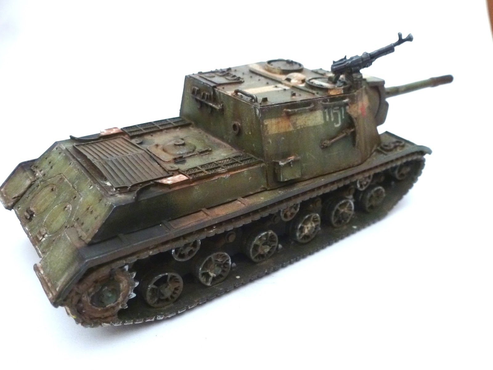 Volley Fire Painting Warlord Games Soviet Armour And