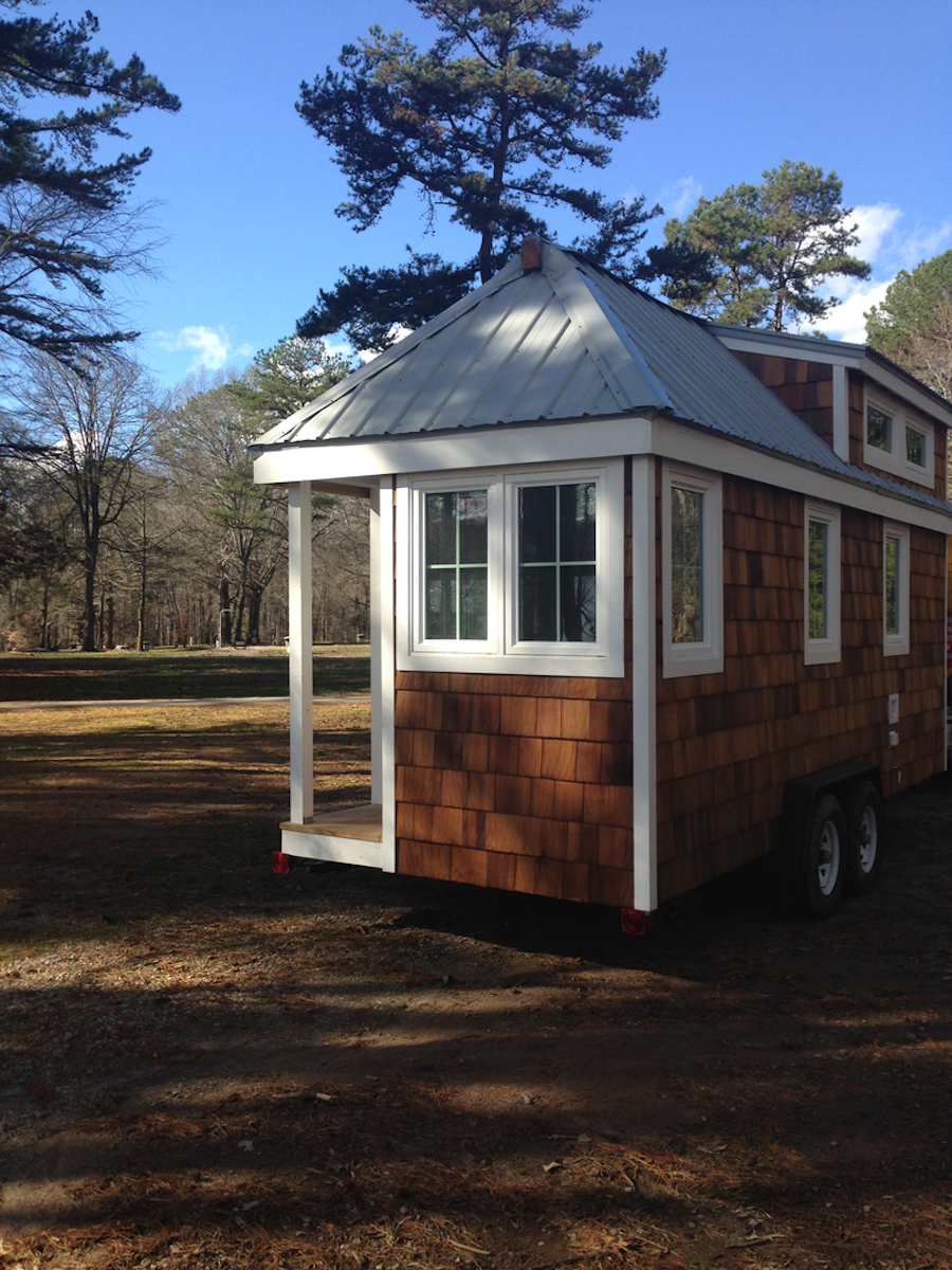 8 Staycation Worthy Tiny Homes For Sale: TINY HOUSE TOWN: The Pecan Tiny House