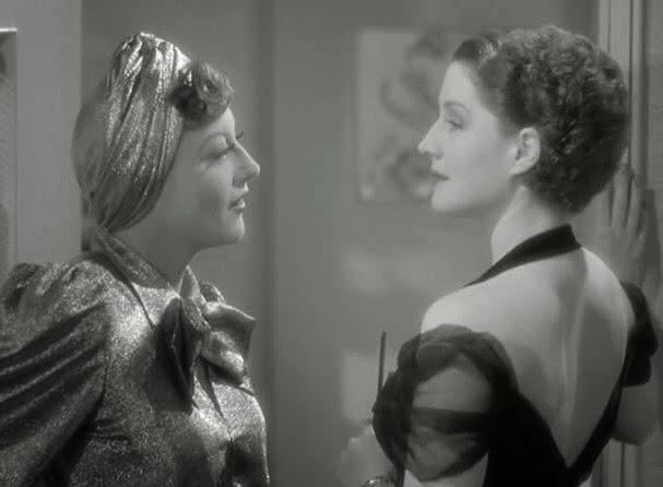26aef3d840 Joan Crawford es la súper bitch que le roba el marido a Norma Shearer y  ésta sufre mucho desde que se entera
