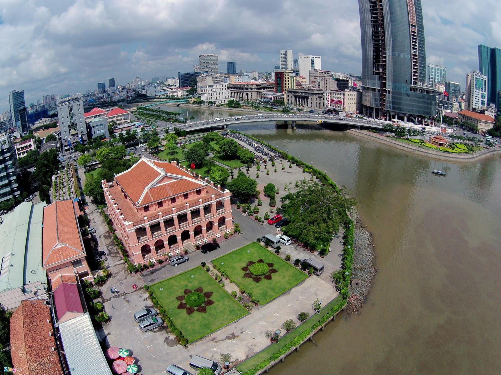 Hình ảnh Sài Gòn đẹp hôm nay