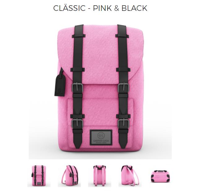 Gaston Luga - Classic Pink & Black