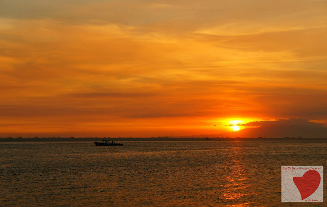 Glorious Sunset at Manila Bay Philippines