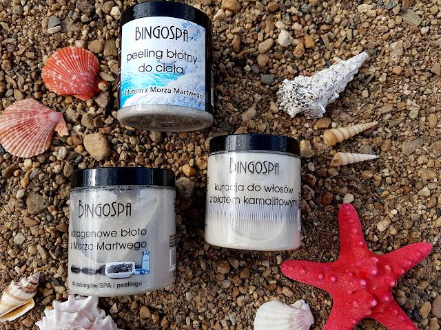 kosmetyki z błotem z Morza Martwego BingoSpa