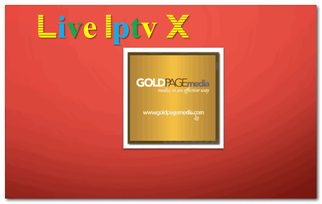 GoldPageMedia Channel online tv addon