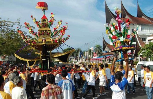 Upacara Tabuik Sumatera Barat