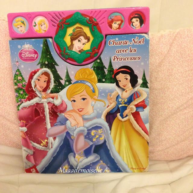 Chante Noël avec les princesses Disney