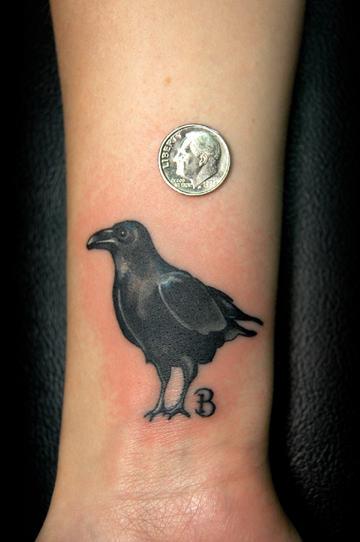 animal tattoo ideas raven tattoos. Black Bedroom Furniture Sets. Home Design Ideas