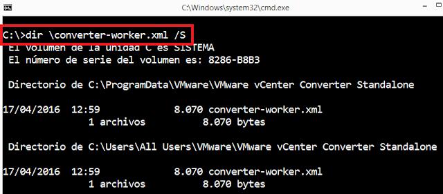VMWare: Converter acelerar proceso